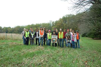 10.19.13 Tree Maintenance at in Rockburn Branch Watershed near Historic Belmont in Elkidge