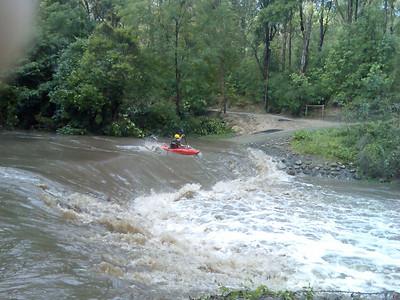 Browns Waterhole flood