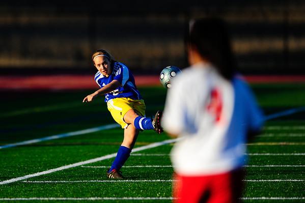 Walkersville Lions JV at Linganore Lancers JV Girls Soccer