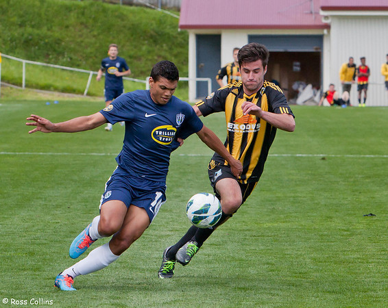 Team Wellington 1 vs. Auckland City 4