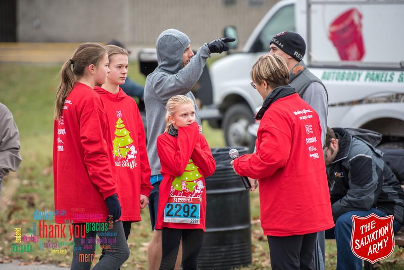 Cornwall Salvation Army Shuffle Run - December 2nd 2017