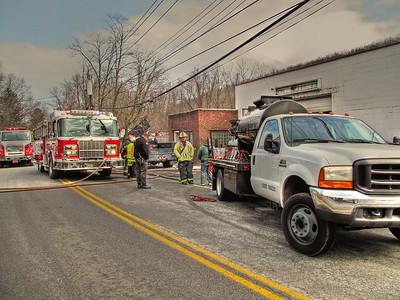 2-6-13 Truck Fire In A Garage, Sprout Brook Road