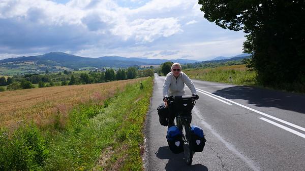 Slovakei Velo Tag1 - Do 11.7.19: Rohozna (Brezno) - Podbanske / 75km (+9)