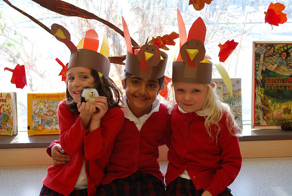 Kindergarten Thanksgiving Celebration
