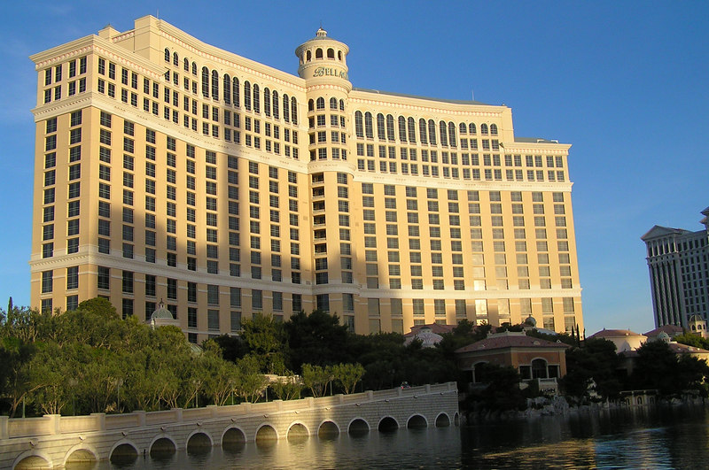 The Bellagio, the best place in town for poker action.