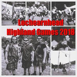 The 2018 Lochearnhead Highland Games
