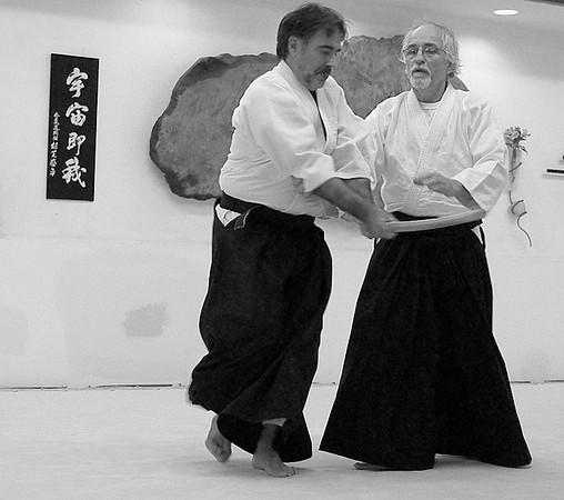Capital Aikikai Testing (Dave and Patrice's Photos) - October 17, 2009