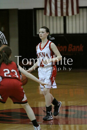 Mena vs Dardanelle - 9th Grade JV Girls BB 2013