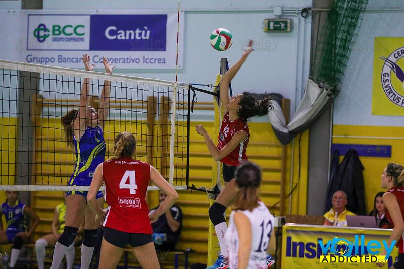 Serie D Femminile 2019/20 Lombardia - 7^ Giornata Virtus Cermenate 3 - Sampietrina Volley Seveso 0 Cermenate (CO) - 30 novembre 2019