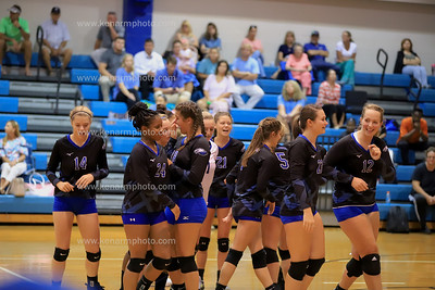 East Bladen 19 volleyball South Columbus