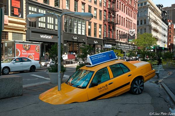 2021 Sinking Yellow Cab