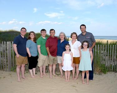 Chernosky Family Beach Portraits July 14, 2019