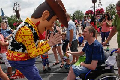 Tansley Family at Disney