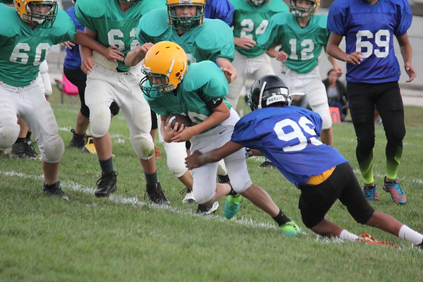 8th Grd Grn vs Glenview 9-27-17
