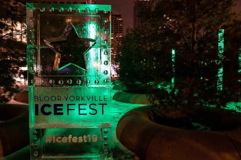 Bloor-Yorkville Icefest 2019