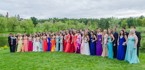 Waterville High School Prom '14