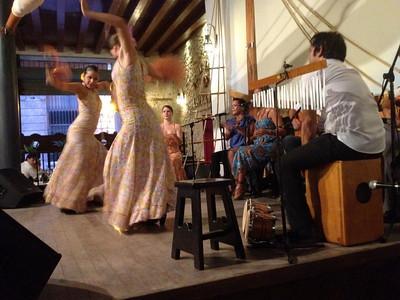 Havana -- Flamenco dancers