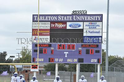 Nolan's FB Tarleton Texanns -vs- Texan A&M Univ Kingsville - homecoming win 80-14 10-11-14