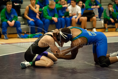 Chantilly Chargers Wrestling v South Lakes, Saturday, January 07, 2012