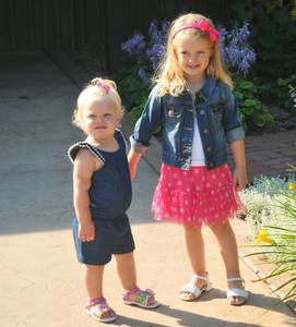 Kenley & Gracie July 2014
