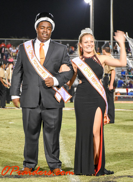 OP Homecoming Game Court