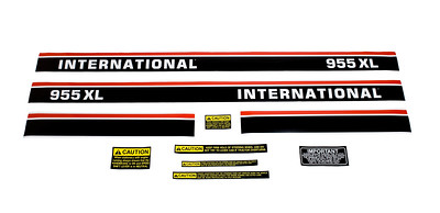 CASE IH 955XL SERIES BONNET DECAL SET