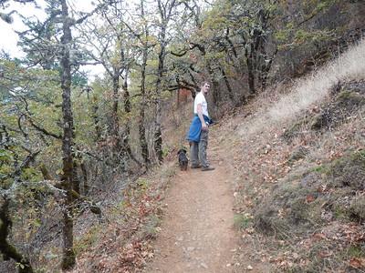 Dog Mountain Hike, Oct 2015