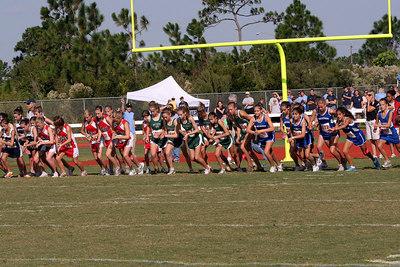 1A Region 2 Crosscountry girls race