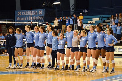 UNC Women's Volleyball 11/05/17