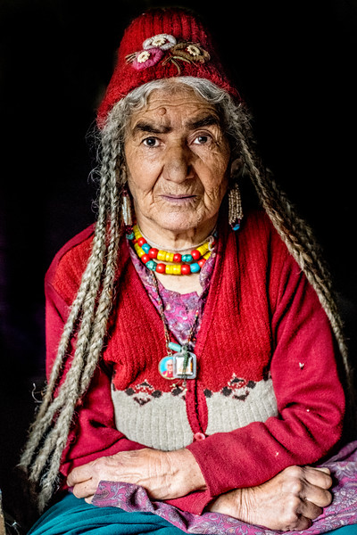 Brokpa Woman, Ladakh, India, August 2018