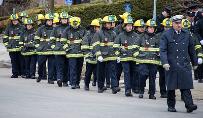 Funeral of FF Joe Toscano - March 22, 2017