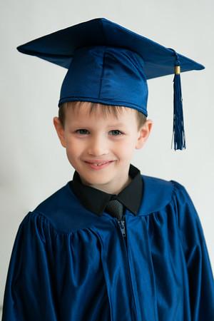 Xander's Kindergarten Graduation