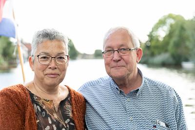 Dik en Iris 40 jaar getrouwd