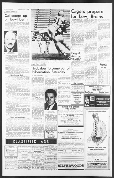 Daily Trojan, Vol. 58, No. 32, November 02, 1966