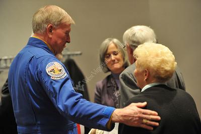 27364 Astronaut speaking