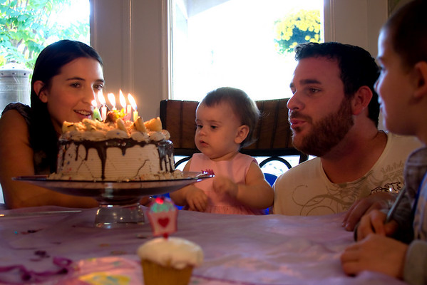 Julia's First Birthday