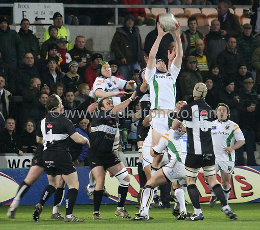 Cornish All Blacks vs Northampton Saints, National Division 1, Franklin's Gardens, 5 March 2008