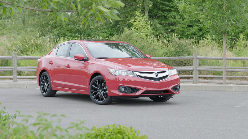 2017 Acura ILX A-Spec Parked Reel