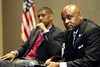 Mayors Johnson and Hancock at the Urban League Evening with the Mayors 11 07 13 :