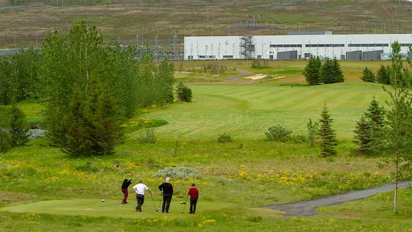 Afmælisboðsmót (Golfmót & umhverfi)