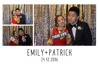Emily & Patrick's Wedding - 24th Dec 2016