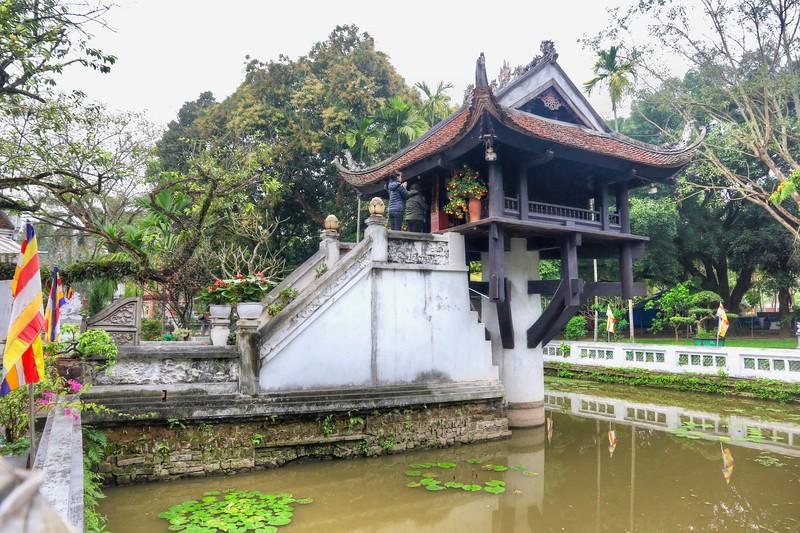 One Pillar Pagoda at Ho Chi Minh Complex
