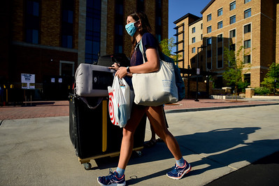 Photos: University of Colorado Boulder Students Return to Campus Housing