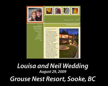 Louisa and Neil's wedding