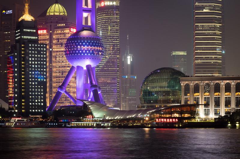 Shanghai, Financial District, China