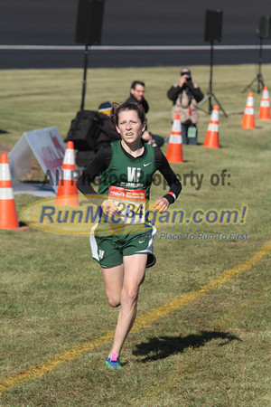 Girl's D1 Finish by John  - 2011 MHSAA LP XC Finals