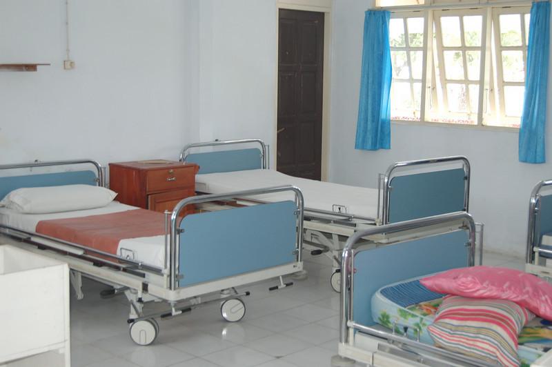 patientenkamer met Nederlandse bedden