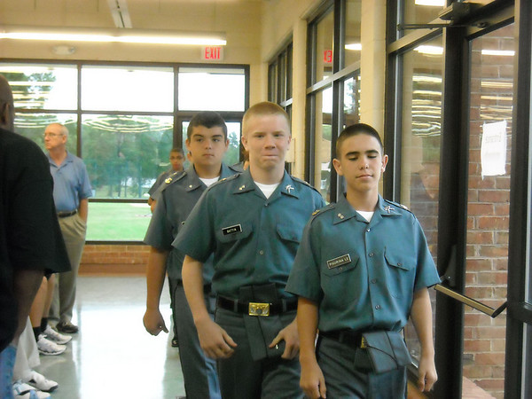 Check In New Middle School Cadets