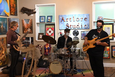 Stephen Trohoske Trio at Artlore Studio
