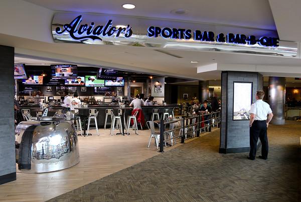 Aviator's Sports Bar & Bar-B-Que, B Gates Mezzanine